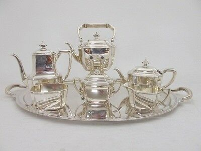 STUNNING TIFFANY & CO STERLING SILVER COFFEE & TEA SERVICE 7 PC HAMPTON PATTERN