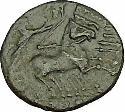 CONSTANTINE I the GREAT Cult  Heaven Horse Chariot Ancient Roman Coin i40204