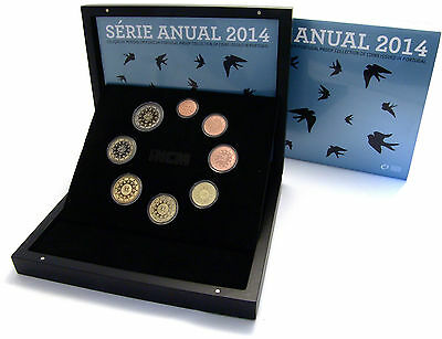 Portugal 3,88 Euro 2014 PP KMS im Etui - Euro Coin Proof Set