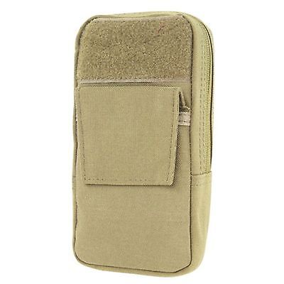 NEW CONDOR MA57 Tactical MOLLE Utility GPS PSPs Hiking Pouch Modular Tan
