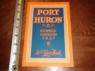 BS904 Vintage 1927 Port Huron Farm Supply Catalog