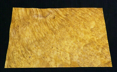 Myrtle Burl Raw Wood Veneer Sheets 7.25 x 11.5 1/42nd                 IFP4520-40