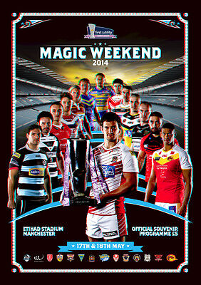 Rugby League Magic Weekend Official Programme 2014