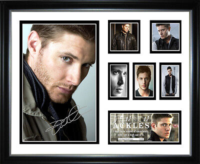 New Jensen Ackles Signed Framed Memorabilia