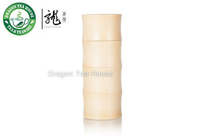 Natural Large Bamboo Tube Canister 590ml 19.95oz