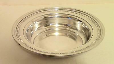 "Vintage Solid Sterling Silver 6"" Serving Bowl CS&Co Chicago Silver Arts & Crafts"