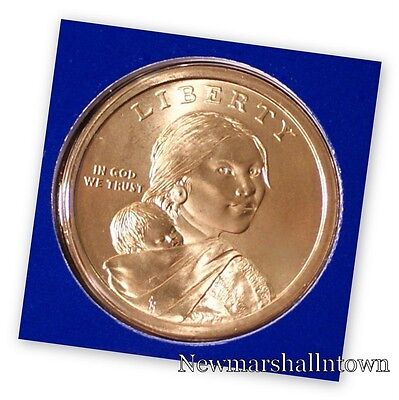 2014 P Native American Sacagawea Dollar ~ Pos A ~ In Mint Wrap from Mint Set