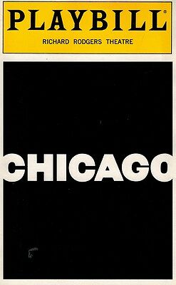Chicago Broadway Playbill - Ann Reinking, Bebe Neuwirth