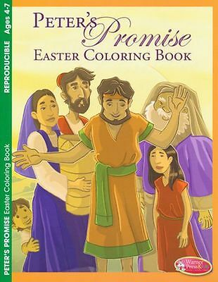 Peter's Promise Easter Coloring Book (ages 4--7)