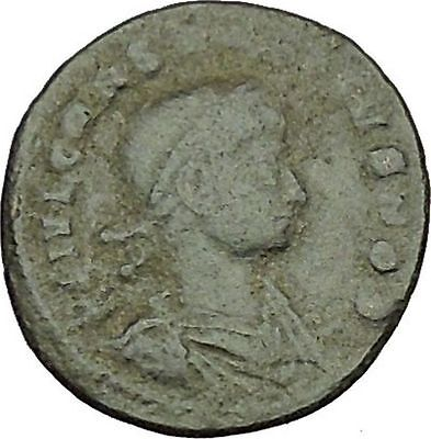 CONSTANTINE II Constantine the Great  son  Roman Coin Glory of the Army  i40366