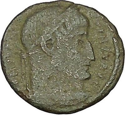 CONSTANTINE I the GREAT Ancient Roman Coin Military Camp gate  i40370
