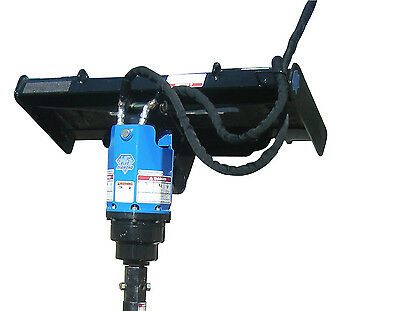 Blue Diamond Heavy Duty Auger Drive Unit Skid Steer Attachment Model#HD-1000