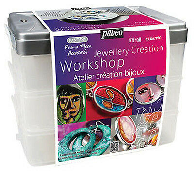 Pebeo Fantasy Jewellery Creation Workbox Set - Prisme, Moon Kit
