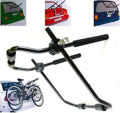 NEW UNIVERSAL BIKE BICYCLE CARRIER CAR RACK FOR 2 BIKES BICYCLES