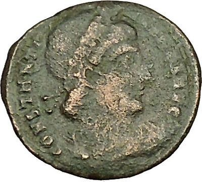 CONSTANTINE I the GREAT 330AD Ancient Roman Coin Legions Glory of army  i40417