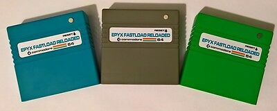 Epyx Fastload RELOADED - Disk & SD2IEC Turbo loader Cartridge C64 C128 C128d