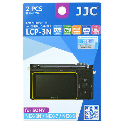 JJC LCP-3N LCD Guard Film Camera Screen Display Protector for Sony NEX 3N / 7 /6