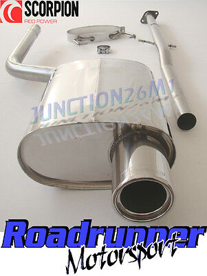 Scorpion Exhaust Cat Back Mini One Cooper R50 Stainless System Non Res SMNS001