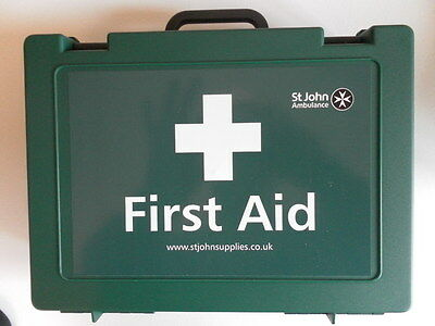 St John Ambulance 50 Person Large Workplace First Aid Kit - 34cm x 22cm x 10cm