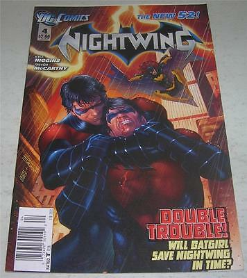 NIGHTWING #4 NEW 52 (DC Comics 2012) BATGIRL app (VF-) RARE Newsstand Edition!