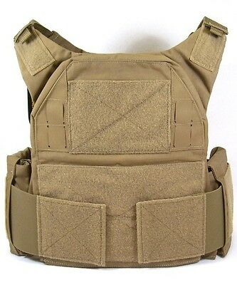 eagle low vis armor carrier medium coyote brown balcs. Black Bedroom Furniture Sets. Home Design Ideas