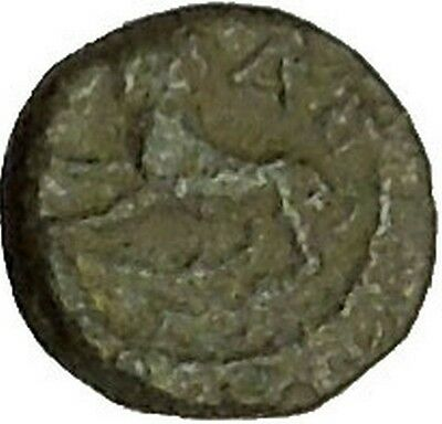 RARE Possibly Unpublished Authentic Ancient Greek Coin Lion Male Head i40314