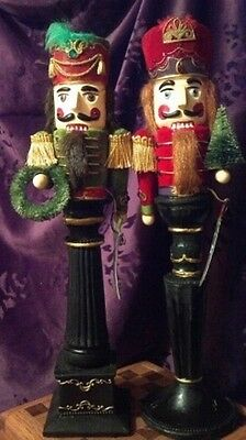 Pair of Handsome Nutcracker by Midwest of Cannon Falls NEW Ballet
