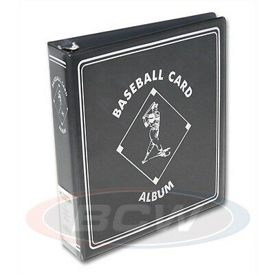 Baseball Trading Card Collectors Album with Page sleeves, 3inch Spine