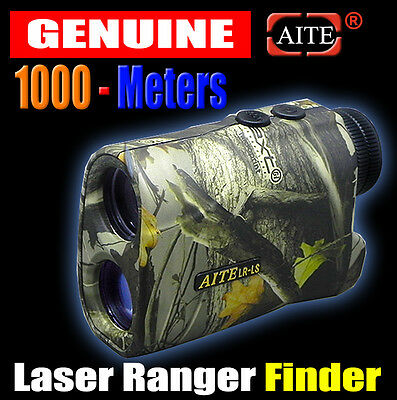 Hunting Laser Range Finder 1000 M Rangefinders Distance speed Measurement Camo