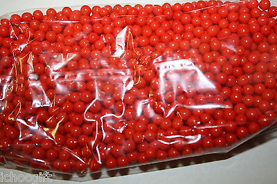 PEARLS SHIMMER Candy Balls RED COLOR 400g bag