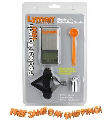Lyman * NEW Pocket Touch Digital Scale Set # 7750725 *  New!