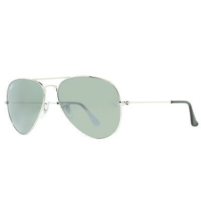 Ray Ban RB 3025 W3275 55mm Small Silver Mirror Aviator Sunglasses