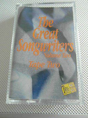 The Great Songwriters Vol Two - Tape Two - Album Cassette Tape - Used very good