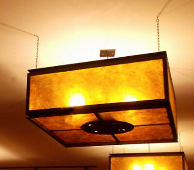 Large light fixture kitchen loft lounge bar hanging gold glowing lamp bulb Steel
