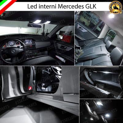 Kit Led Interni Mercedes Glk Completo (Ant+Post+Luci Cortesia+Bagagliaio)