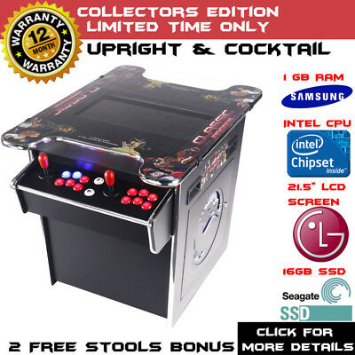 New Arcade Machine Tabletop Upright & Cocktail Jamma Video Game Pinball Pool