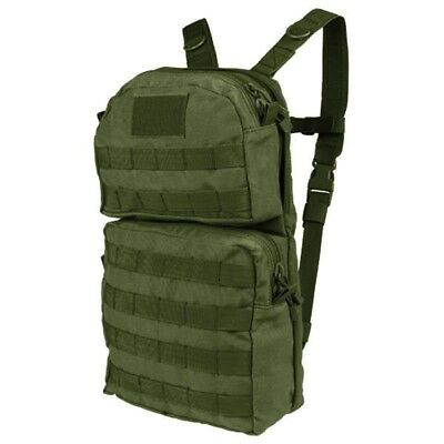 Condor HCB2 OD Green MOLLE Hydration Pack Backpack w/ 2.5L Bladder Included