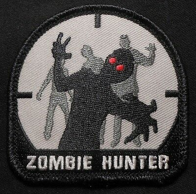 ZOMBIE HUNTER TACTICAL OUTBREAK US ARMY RESPONSE TEAM MILITARY SWAT VELCRO PATCH