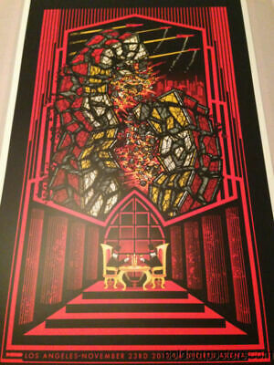 Pearl Jam - 2013 Brad Klausen poster print Los Angeles 1st edition show