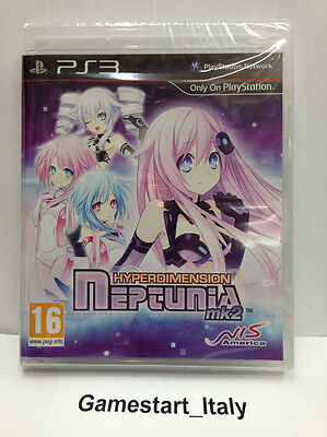 Hyperdimension Neptunia Mk2 (Ps3) Videogioco Nuovo Sigillato New Game