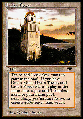 Torre di Urza - Urza's Tower MTG MAGIC Antiquities English SEASHORE PLAYED
