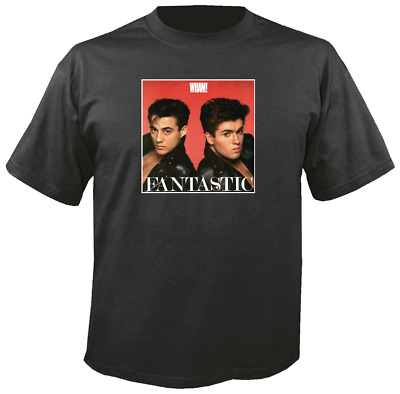 Tee Shirt New Adult Unisex Pop Greats WHAM FANTASTIC on quality cotton t-shirt