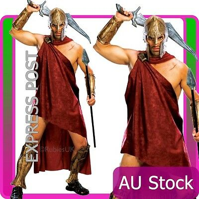 Mens Spartan Warrior Roman Ancient Times Greek Warrior Outfit Armour Costume & MENS SPARTAN WARRIOR Roman Ancient Times Greek Warrior Outfit Armour ...
