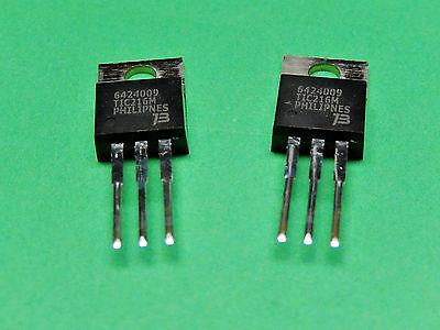 TIC216M-S TIC216M TRIAC 6AMP 600V Bourns