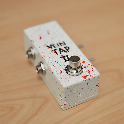 Vein Tap 2 - Custom UK Handmade Tap Tempo Switch / Pedal with Dual Output