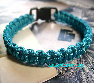 Men's Trendy Sophisticated Braided Silk String Fashion Click Closure Bracelet