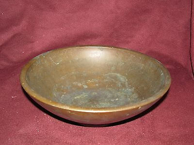 Antique Japanese Bronze Bowl Signed