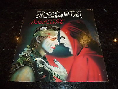 "MARILLION - Assassing - 1984 UK 2-track 12"" vinyl single"