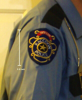 Resident Evil Zombie Outbreak Raccoon City Police Department Rpd Insignia Patch