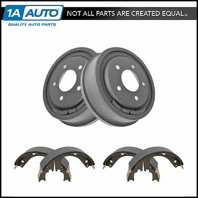 Rear Brake Shoes & Drums Kit Set for Ford Bronco F150 E150 Van